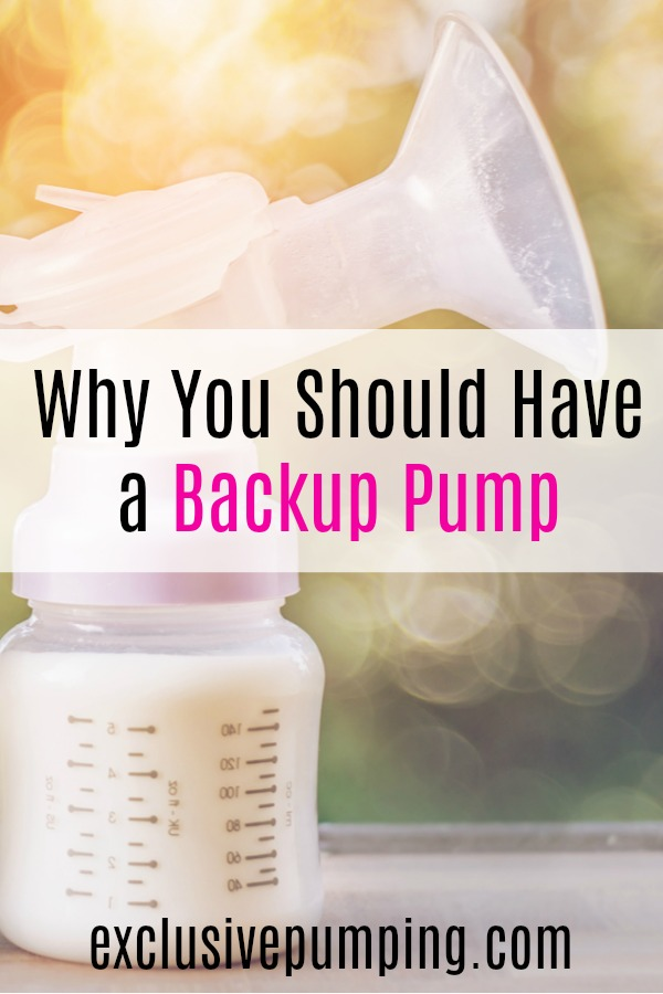 Why you should have a backup breast pump