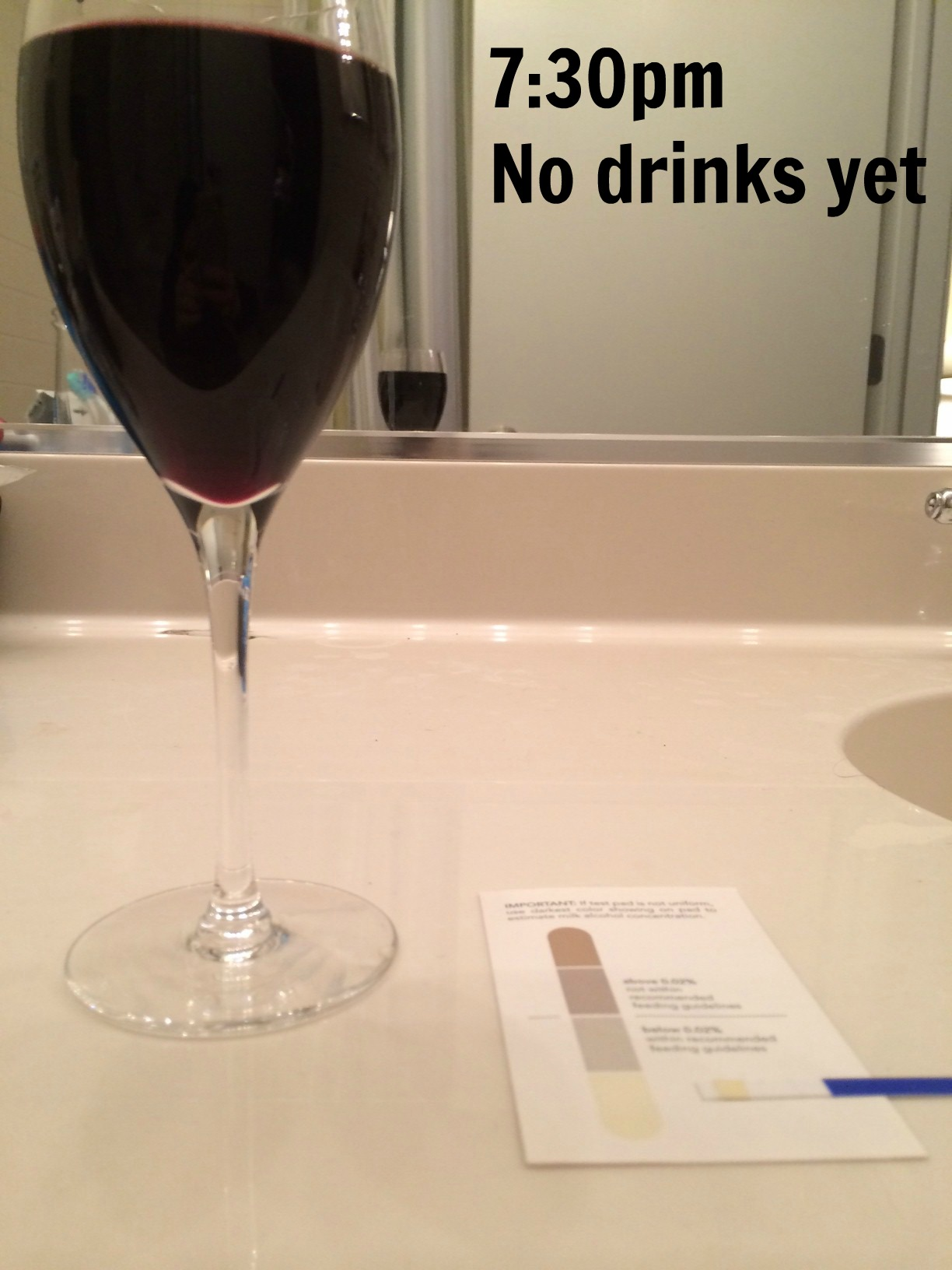 Drinking Wine And Breast Pumping