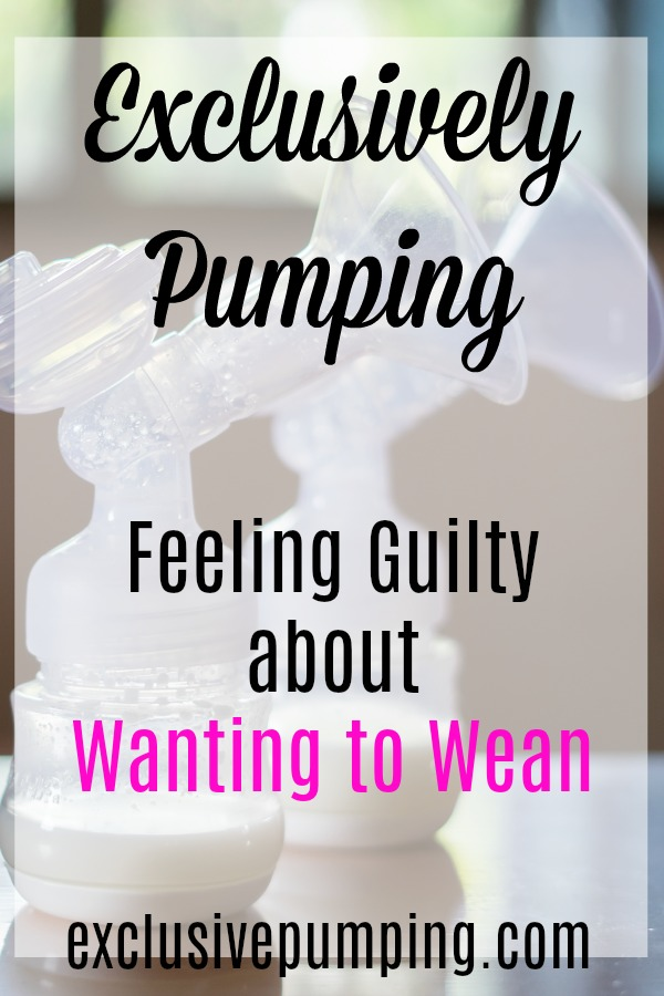 Feeling Guilty for Wanting to Wean