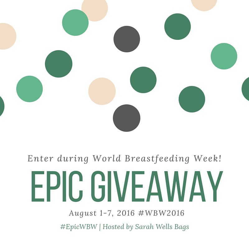 World Breastfeeding Week (and Giveaway!)