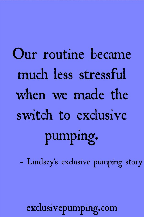 Lindsey's Exclusive Pumping Story