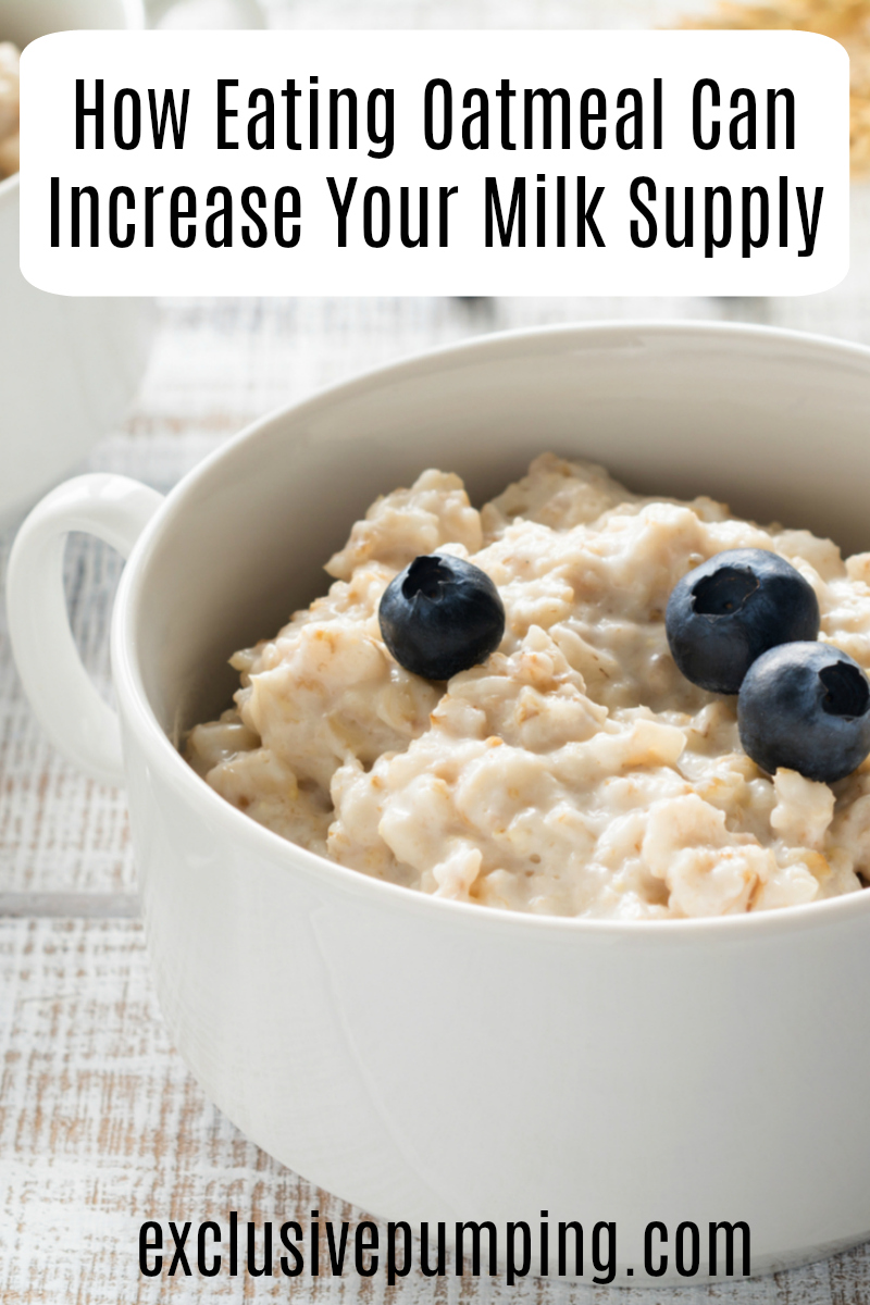 Oatmeal Experiment Does Oatmeal Increase Milk Supply-8151