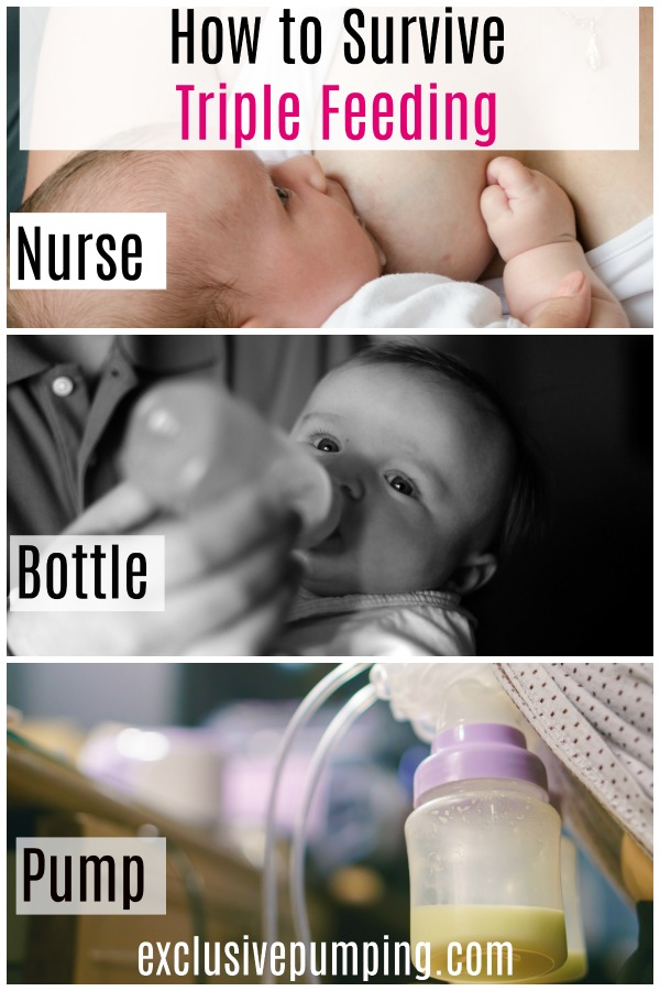 Triple Feeding - Nursing, Pumping, and Bottle Feeding