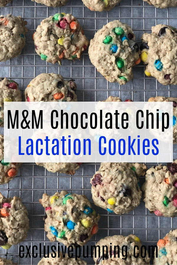 Chocolate Chip and M&M Lactation Cookies