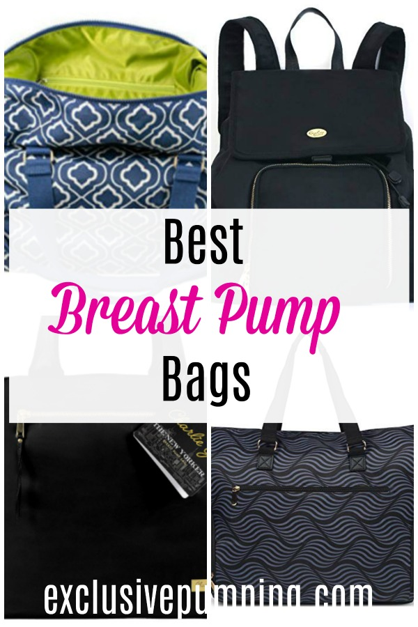 Best Breast Pump Bags for Working Moms
