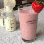 Strawberry Banana Lactation Smoothie