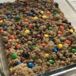 Monster Oatmeal Lactation Cookie Bars