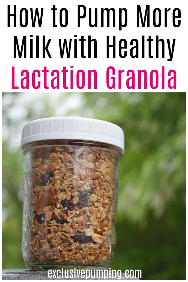 How to Pump More Milk with Healthy Lactation Granola
