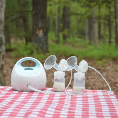 Pumping Breast Milk While Camping