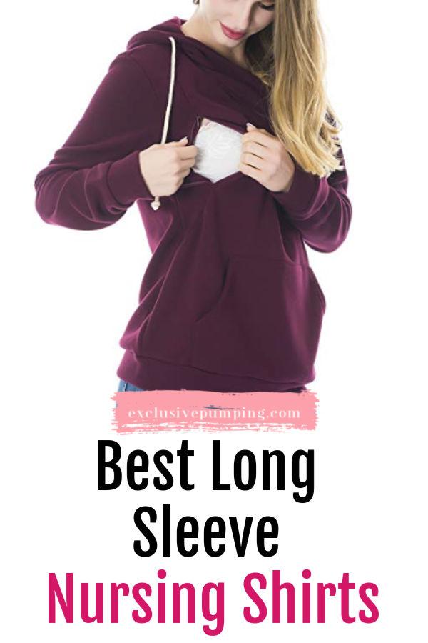 Best Long Sleeve Nursing Shirts
