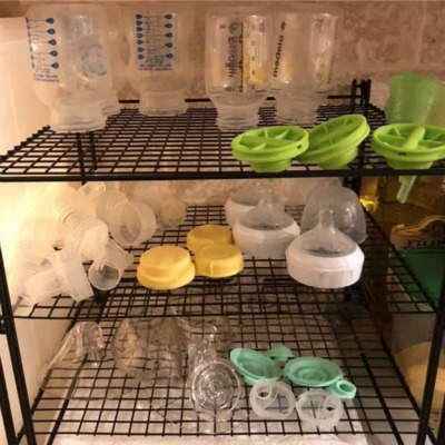 Tips for Organizing Bottles and Breast Pump Parts