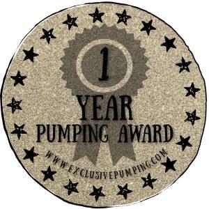 One Year Pumping Award