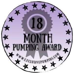 18 Month Pumping Award