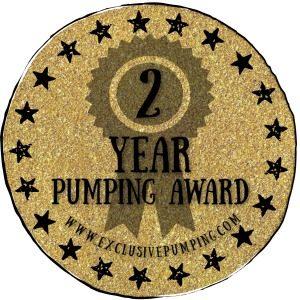 2 Year Pumping Award