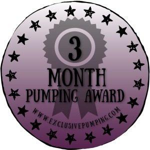 Three Month Pumping Award