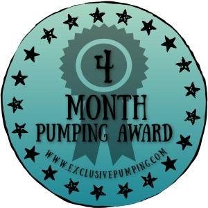 Four Month Pumping Award
