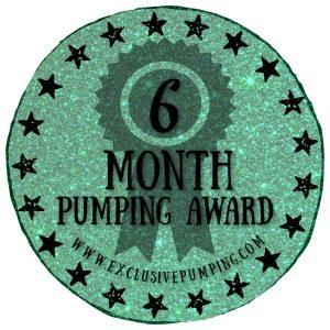 Six Month Pumping Award